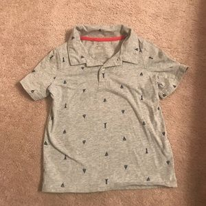 Carter's 5T polo wit sailboats